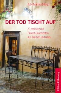 Der Tod tischt auf. Buchcover Edition Falkenberg